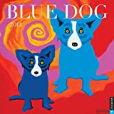 Blue Dog 2014 Wall Calendar