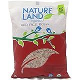 NatureLand Organics Flattened Red Rice ( Poha ) 17.64 Oz - USDA Certified
