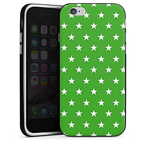 Apple iPhone 5 Housse Étui Protection Coque Étoiles Motif Motif Housse en silicone noir / blanc