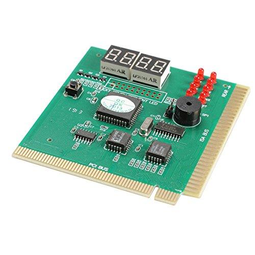 amazingdeal Ersatz LCD Display 4-pc Analyzer Diagnosekarte Motherboard POST Tester