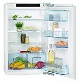 AEG SANTO SKS68800F0 Einbau-Kühlschrank/A++ / Kühlen: 155 L/weiß / Festtürtechnik/LC-Display
