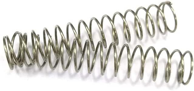 5-14 Diam/ètre 1mm fil * Petit 2PCS en acier inoxydable 304 Enroul/é de fil /à long ressorts de compression mm Diam/ètre * 1000mm Out Taille : 1x14x1000mm W-NUANJUN-SPRING