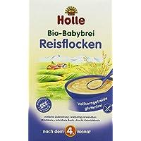 Holle Bio-Babybrei Reisflocken, 3er Pack (3 x 250 g)