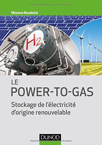 Descargar Libro Le Power-to-Gas - Stockage de l'électricité d'origine renouvelable de Méziane Boudellal