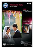 HP CR695A Premium Plus Glossy Photopapier weiss 300g/m2 100 x 150 mm 50 Blatt 1er-Pack