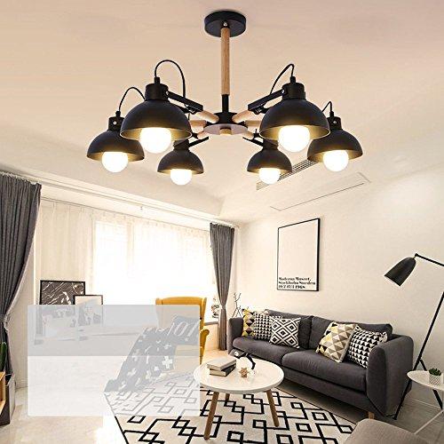 ... GBYZHMH Einfache, Moderne Holz Kronleuchter Nordische Atmosphäre Home  Esstisch Leuchte Wohnzimmer Lampe Kreative Esszimmer Beleuchtung