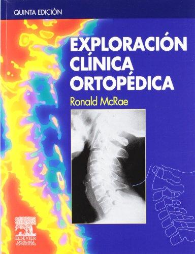 Exploración clínica ortopédica por R. McRae