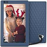 Nixplay Seed 7 inch WiFi Digitale Bilderrahmen - Blau - Software nur in Englisch, mit Euro-Stecker