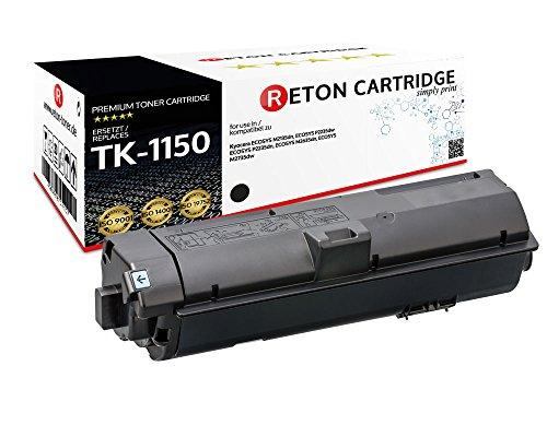 Preisvergleich Produktbild Original Reton kompatibler Toner   50% höhere Druckleistung   als Ersatz für TK -1150 für Kyocera ECOSYS M2135dn, M2635dn, M2735dn, P2235dn, P2235dw   Geprüft nach ISO-Norm 19752   4.500 Seiten