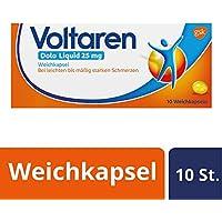Preisvergleich für Voltaren Dolo Liquid 25 mg Weichkapseln mit Diclofenac, 10 St.