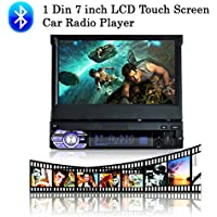 Boomboost 1 Din 7 pulgadas 1080P Radio de coche Estéreo autoradio Jugador Ayuda de la pantalla táctil del LCD Manos libres de Bluetooth