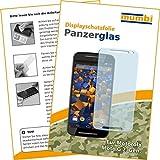 mumbi Panzerfolie für Motorola Moto G 2. Generation Glasfolie Hartglas 9H