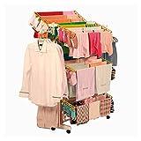 #3: Elcara Power Dryer Easy Cloth Drying Stand Laundry Drying Rack Stand and Garments Rack Mild Steel, Kk-311Orange