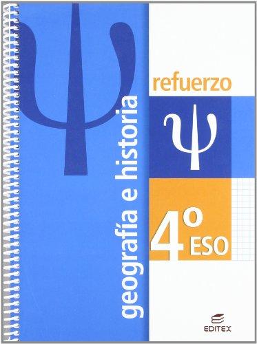 Refuerzo Geografía e Historia 4º ESO (Cuadernos de Refuerzo) - 9788497714334