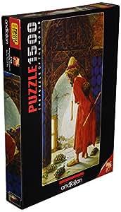 Puzzle 1500 pièces - Osman Hamdi Bey : Le dresseur de Tortue