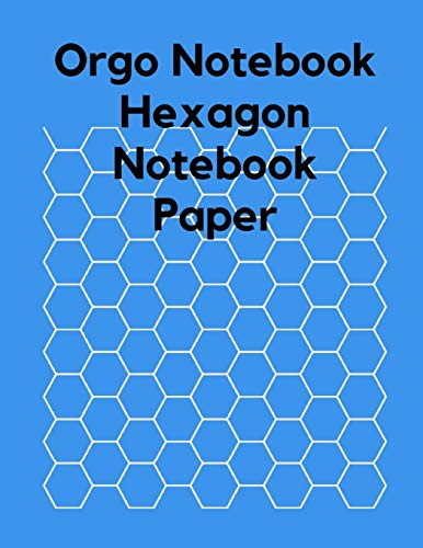 Orgo Notebook , Hexagon Notebook Paper: Hexagonal Graph Paper Notebook , Organic Chemistry Drawing , Orgo Paper Note , Structuring Sketches, Drawing Christmas Plate Block