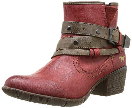 Mustang Damen Kurzschaft Stiefel Rot (5 rot)
