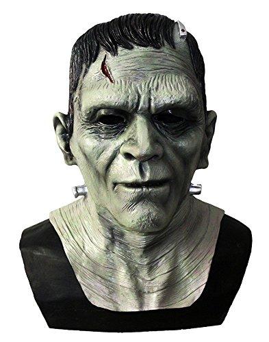 shoperama Hochwertige Latex-Maske - Frankenstein