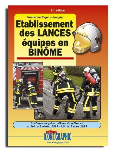 """Télécharger Etablissement des LANCES équipes en BINà""""ME PDF Fichier"""