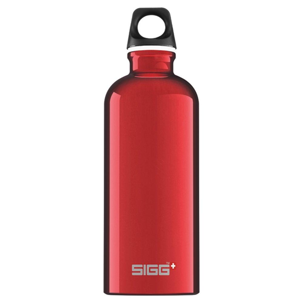 Bildergebnis für aluminium flasche rot sigg