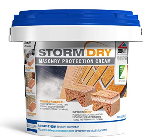 Stormdry muratura della crema 3L-l' unico prodotto certificato BBA mattoni impermeabilizzazione-25anni protezione contro umidità penetrante.