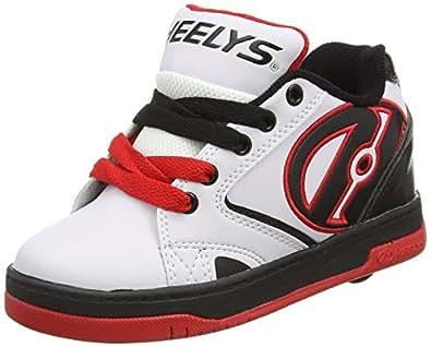 Heelys  Propel 2.0 770599, Sneakers garçon - multicolore (White/Black/Red), 32 EU ( 13 UK  )