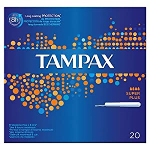 Tampax Blue Box SuperPlus with applicator 20