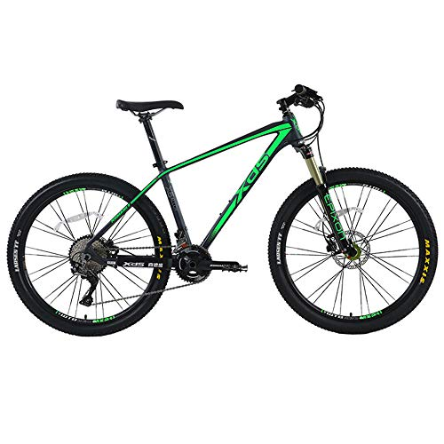 51 7l9agjHL. SS500  - POTHUNTER XDS Mountain Bike CQ770 Carbon Fiber Road Self-driving Adult Sports Off-road Speed Road Bike,Black-blue15.5inches-22speed-Wheeldiameter26inches
