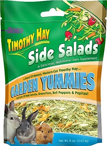 F.M. Brown's Timothy Hay Side Salads Garden Yummies, 8-Ounce by Fm Browns (English manual)