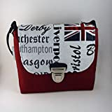 Kleine Schultertasche Umhängetasche London England crossover Queen - GREAT BRITAIN -
