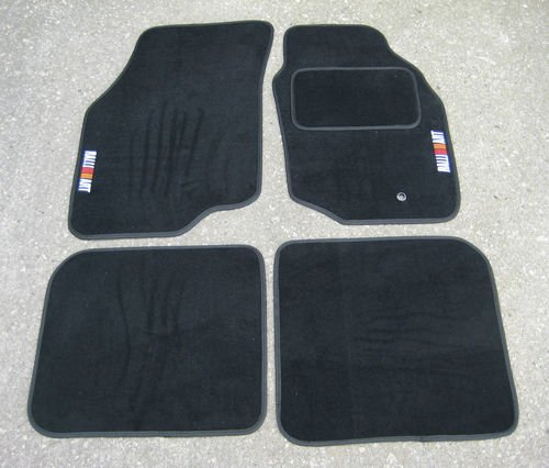 JVL Fully Tailored 4 Piece Jubilee Union Jack Tailored Car Mat Set