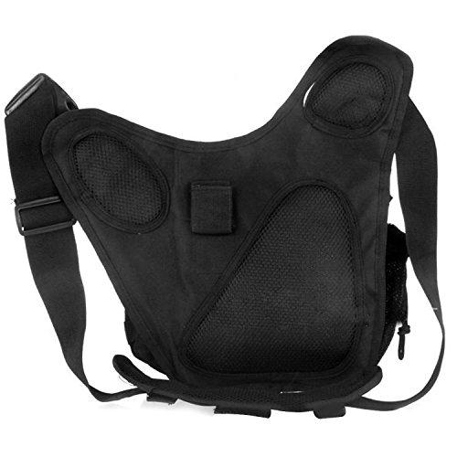 Beetest-Lässige Hüfttasche für Outdoor-Sportarten,Nylon Schwarz