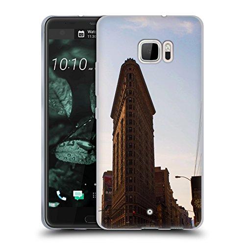 Flat Iron NY Orte 4 Soft Gel Hülle für HTC U Ultra / Ocean Note (Flat Iron Gel)