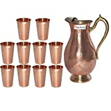 Prisha India Craft ® Copper Jug ( Roy...
