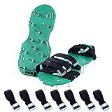 Nulsval Rasen belüfter Schuhe Garten mit Sandalen mit 4 Sicheren Verstellbare träger universelle größe für Alle Schuhe Oder Stiefel