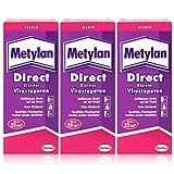 Henkel Metylan Direct Tapetenkleister für Vlies-Tapeten 200g ( 3er Pack )
