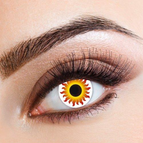 Sunrise hochwertige farbige Kontaktlinsen für Freizeit Party Halloween Karneval