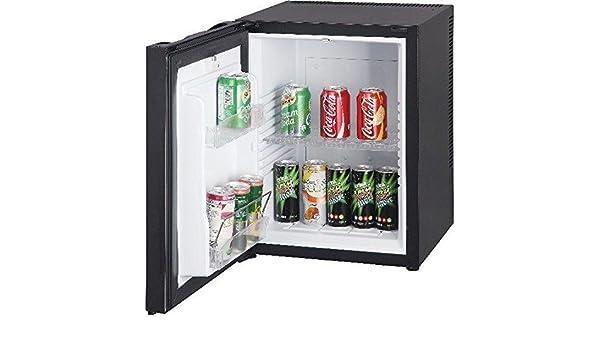 Kleiner Kühlschrank Lautlos : Minibar kühlschrank schwarz mit liter volumen für getränke null