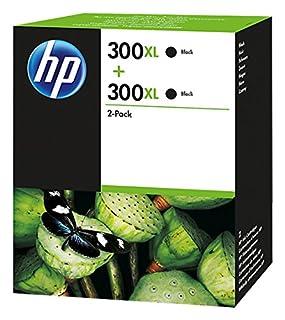 HP 300XL - Pack de 2 cartuchos de tinta original de alta capacidad negro/negro, color negro (B00F083QB2) | Amazon price tracker / tracking, Amazon price history charts, Amazon price watches, Amazon price drop alerts