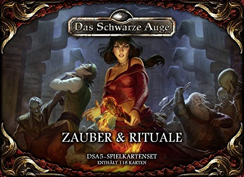 Preisvergleich Produktbild DSA5 Spielkartenset Zauber & Rituale (Das Schwarze Auge: Regelwerke)