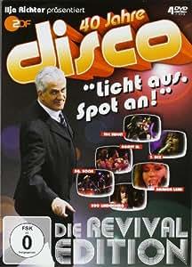 """40 Jahre disco """"Licht aus, Spot an!"""" (Die Revival Edition) [4 DVDs]"""