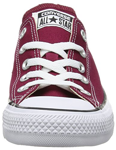 Converse Ctas Core Ox, Baskets mode mixte adulte Rot (Maroon)