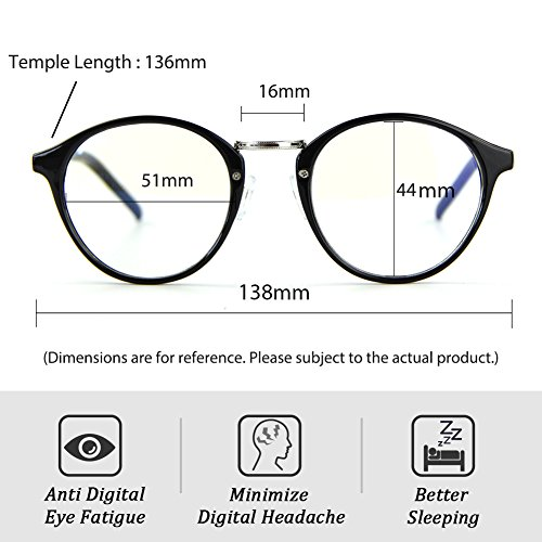 ea628a856fb Cyxus Blue Light Filter Computer Glasses