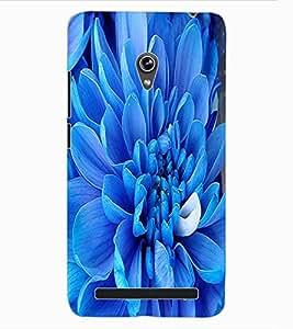 ColourCraft Lovely Flower Design Back Case Cover for ASUS ZENFONE 6 A600CG