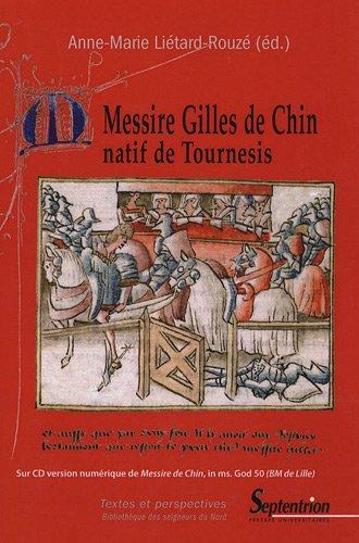 Messire Gilles de Chin (1CD audio)