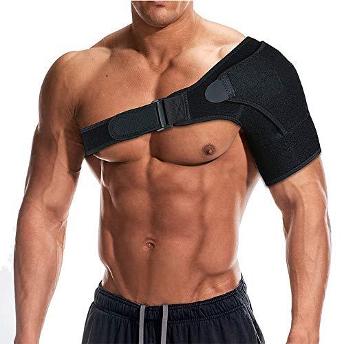 Queta professionale sport supporter singolo–schermo rinforzato per spalla per spalla riabilitazione