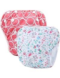Storeofbaby Pañales de natación reutilizables nappy pañales de baño para niños ...