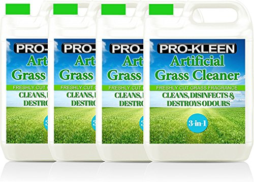 Pro-Kleen Artificial Grass Cleaner - Perfect for Homes with Dogs - Cleans, Disinfects, Deodorises & Fragrances - 4 x 5… 6