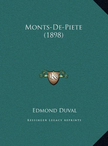Monts-de-Piete (1898)