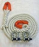 24mm Nylon 12Tonne Abschleppseil X 10M, 2x 4,75Tonne Fesseln 4x 4–Recovery –-– ropeservices UK